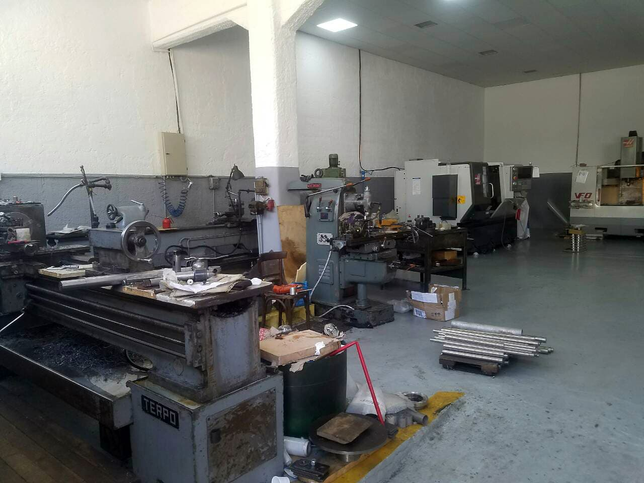 Equipment of our CNC factory